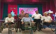 Công đoàn Công ty Điện lực Bắc Ninh thăm Trung tâm Điều dưỡng thương binh Thuận Thành Bắc Ninh nhân kỷ niệm 72 năm ngày Thương binh liệt sỹ 27/7