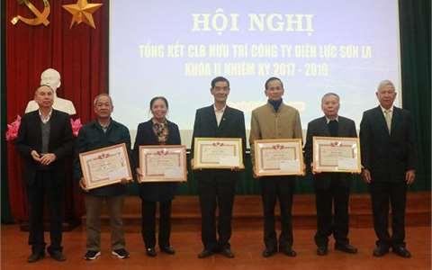 CLB Hưu trí Công ty Điện lực Sơn La tổng kết nhiệm kỳ 2017-2019